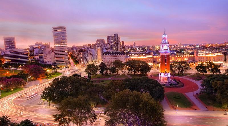 Montevidéu de noite