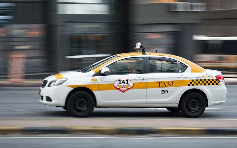 Táxi em Montevidéu