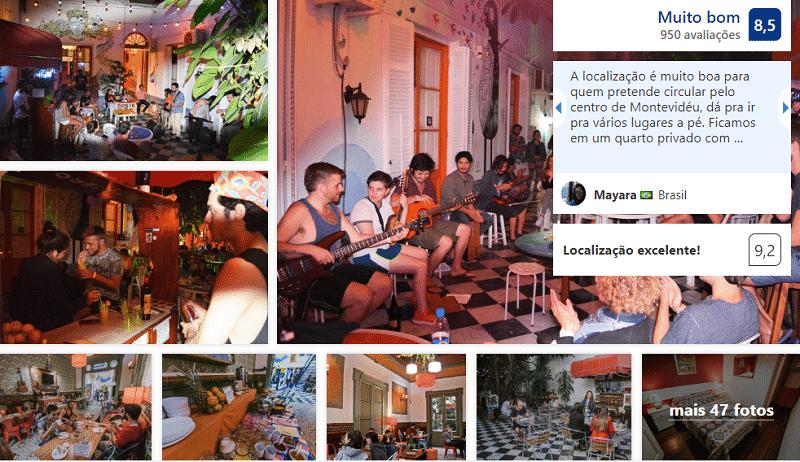El Viajero Downtown Hostel & Suites em Montevidéu
