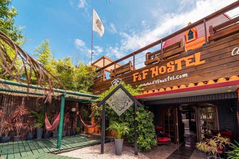 F&F Hostel em Punta del Este - Área Comum