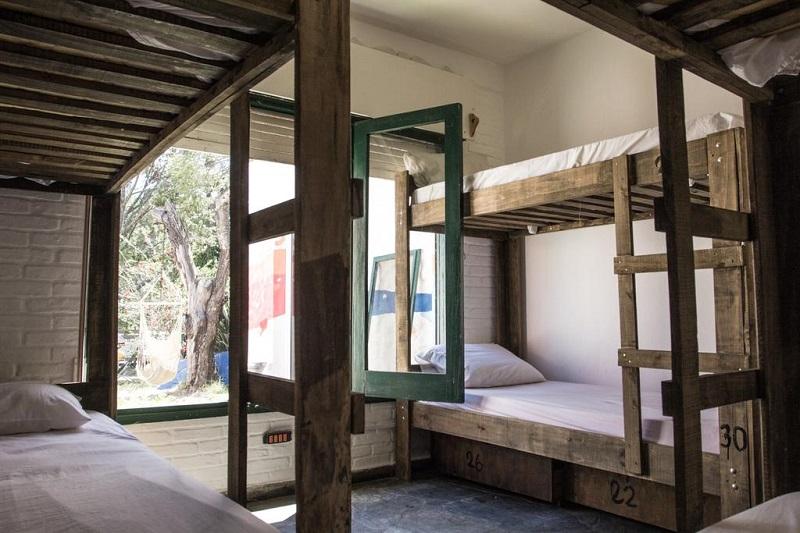 Negrita Hostel em Punta del Este - Quarto