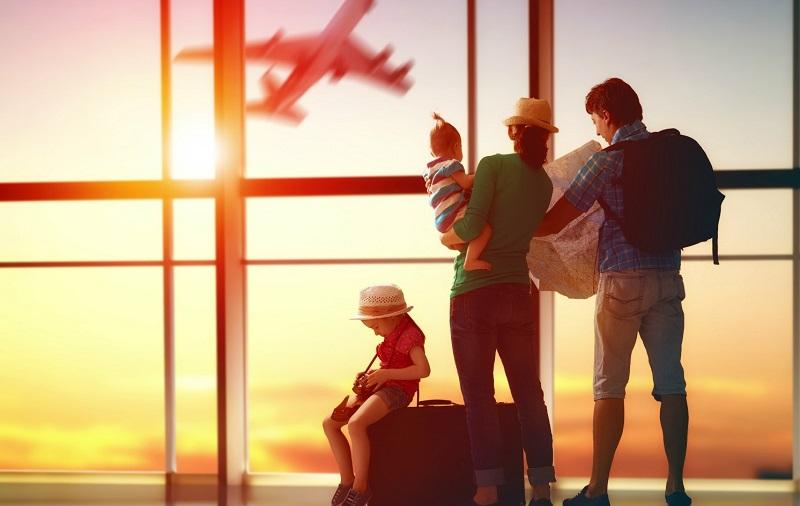 Família indo viajar